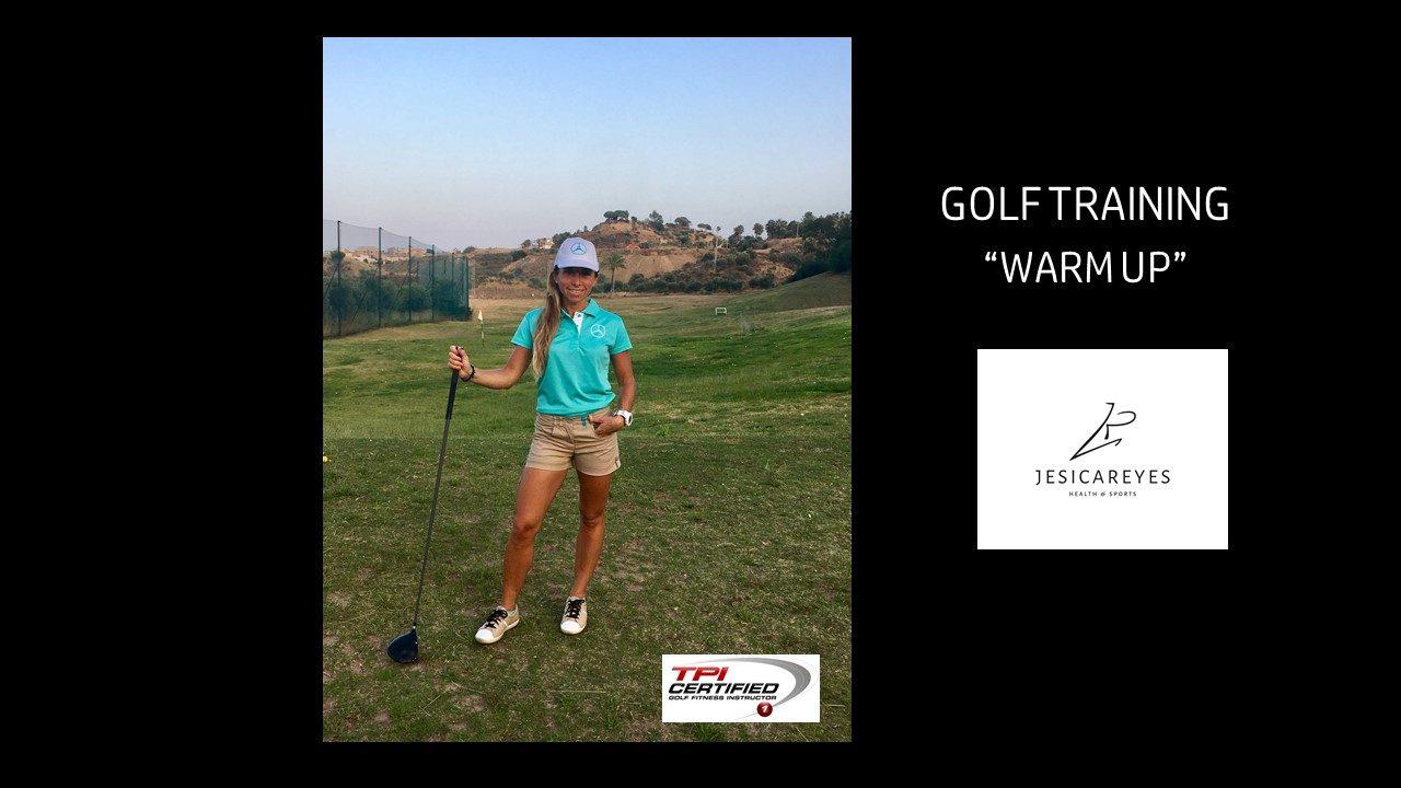 "Golf Training ""Warm Up video"""
