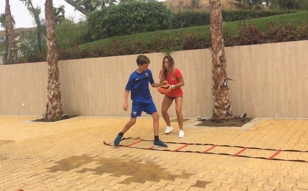 Soccer Warm Up (Nikki Training)